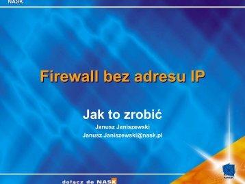 Implementacja w oparciu o FreeBSD (cd.)