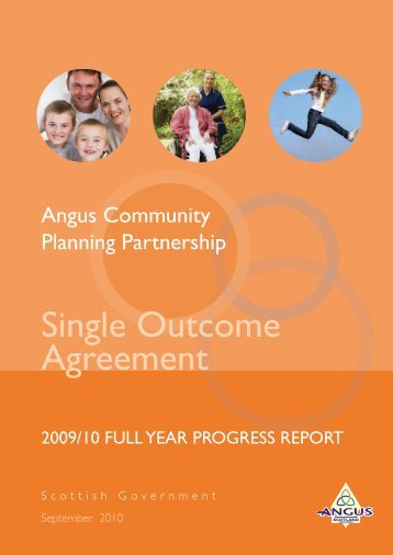 2009/10 Full Year Progress Report - Angus Community Planning