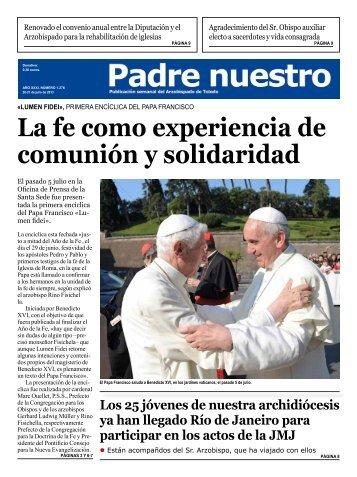 La fe como experiencia de comunión y solidaridad - Archidiócesis ...