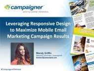 What is responsive design? - Campaigner
