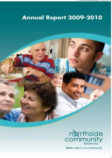 Annual Report 2009/2010 - Northside Community Forum Inc.