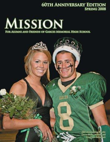 Mission Magazine Spring 2008 - Garces Memorial High School