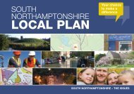 Local Plan Issues Leaflet: Summary - South Northamptonshire Council