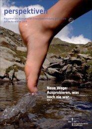 Neue Wege, neue Perspektiven - Systemische Weiterbildung ...