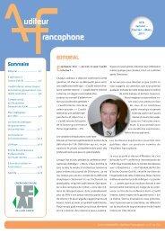 Auditeur Francophone : N° 6 Janvier - Mars 2011 - SVIR