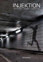 INJEKTION. CAMPUSMAGAZIN. Heft 3: Schatten