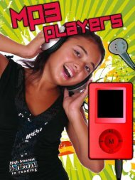 MP3 Players - Rourke Publishing eBook Delivery System