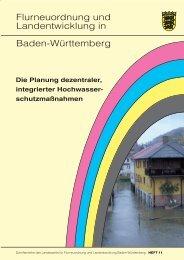 Die Planung dezentraler integrierter Hochwasserschutzmaßnahmen