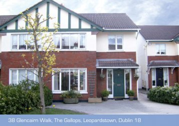 38 Glencairn Walk, The Gallops, Leopardstown, Dublin 18 - Daft.ie
