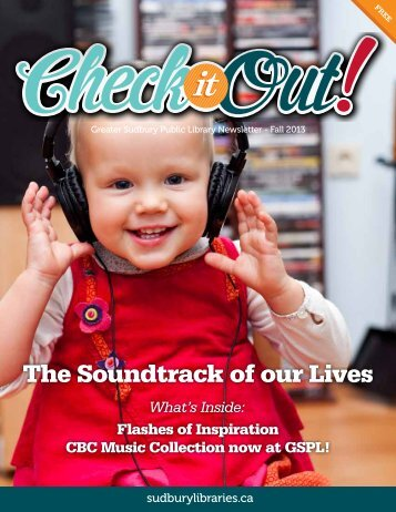 Fall 2013 - Greater Sudbury Public Library