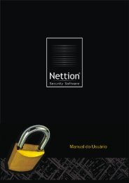 Manual do Nettion Security Software