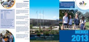 Merici Prospectus 2013.pdf - Merici College