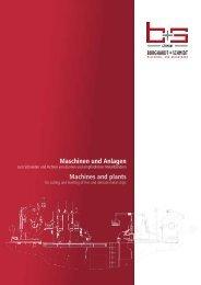 Maschinen und Anlagen Machines and plants - SteelRep.com