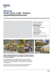 Kodin Terra, Lahti - Kasten