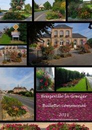 Le dernier bulletin communal, de janvier 2012 - Bienvenue à ...