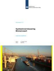 Systeemvernieuwing Binnenvaart SYNTHESE ... - watererfgoed.nl