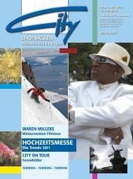 HOCHZEITSMESSE - CITY Stadtmagazin
