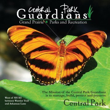 Central Park - The City of Grand Prairie Parks and Recreation ...