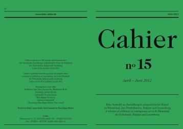 April – Juni 2012 - stijl | büro für gestaltung
