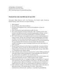 Protokoll100325 - Institutionen för historiska studier - Göteborgs ...