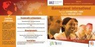 Management international - IAE