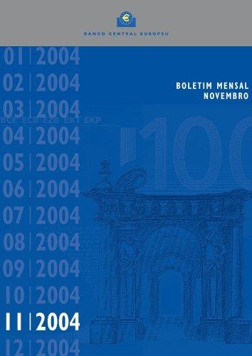 B. Mensal BCE - Novembro 2004