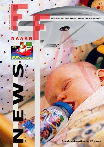 Rauchmelder retten Kinderleben - Freiwillige Feuerwehr Naarn