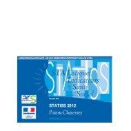 Statiss 2012 de Poitou-Charentes - ARS Poitou-Charentes