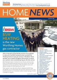 Summer 2011 edition - Worthing Homes
