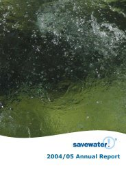 2004-2005 savewater Alliance Annual Report - Savewater.com.au