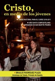 Carta Pastoral para el Curso 2010-2011. Formato PDF.