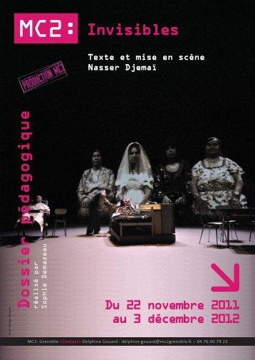 Dossier pédagogique - Théâtre de la Maison du Peuple