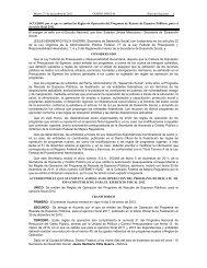 Programa de Rescate de Espacios Públicos - Secretaria de Hacienda