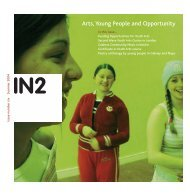 in2 2004 artwork - Youth Arts Programme