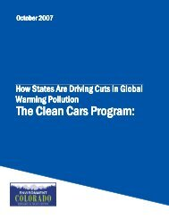 The Clean Cars Program - Cadaonline.org