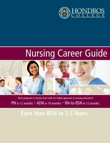 Nursing Career Guide - Hondros College