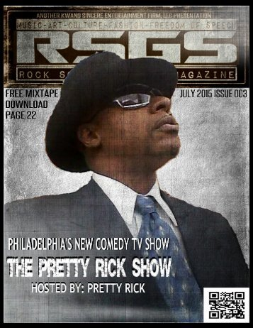 Rock So Grand Show Magazine July 2015 Issuu 003 Featuring The Pretty Rick Show