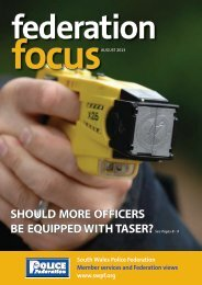 Focus - the South Wales Police Federation