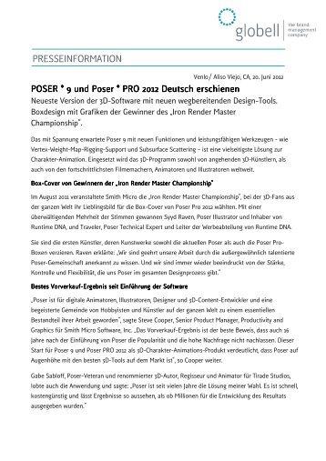 Download 2012-06-20 PM Poser 9 & Pro 2012_Globell - Globell BV