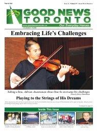 Embracing Life's Challenges - Good News Toronto
