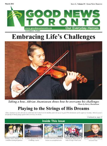 Embracing Life's Challenges - Good News Toronto