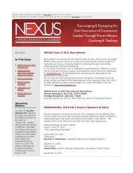 MailBuild Complex Newsletter Template - nexus leaders