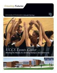 UCCS Events Center - University of Colorado Foundation