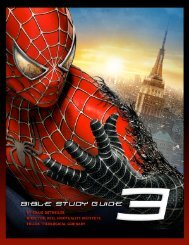 Spider-Man 3 Bible Study Guide - Christianity