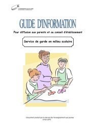 guide d'information - Commission scolaire de Kamouraska—Rivière ...