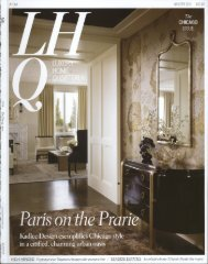 Winter 2011 - Luxury Home Quarterly - Simeone Deary Design Group