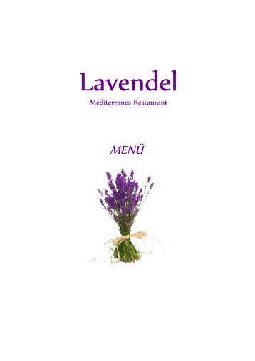 Lavendel Men 01 - Lavendel Restaurant