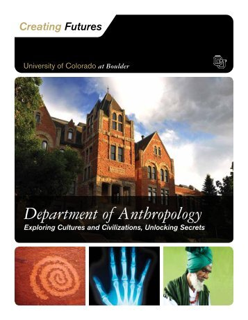 Department of Anthropology - University of Colorado Foundation