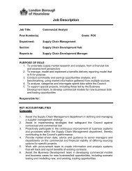 Commercial Analyst Job Description - Hays