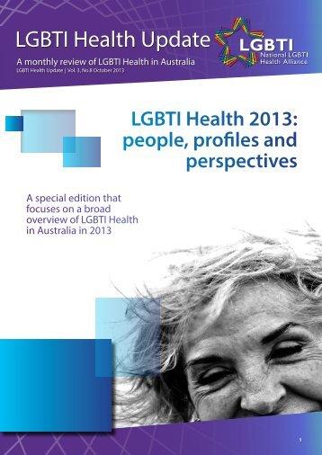 LGBTI Health Update